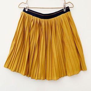 Zara Girls mustard skirt